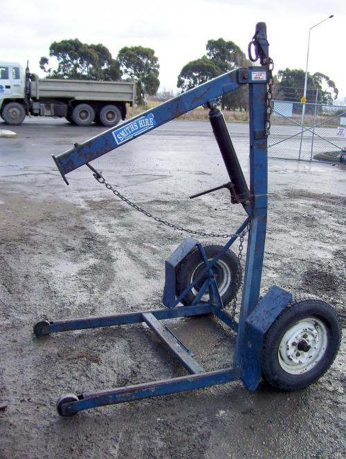 Smiths Hire Rental Equipment Specialists Engine Hoist